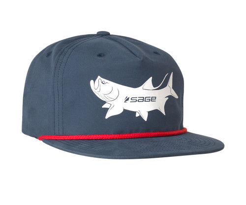 Sage Captain's Hat - Tarpon Navy