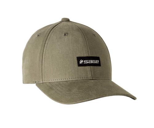 Sage 6-Panel Logo Hat - Olive