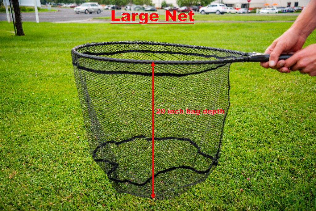 Tactical Fly Fisher Rubber Mesh Net
