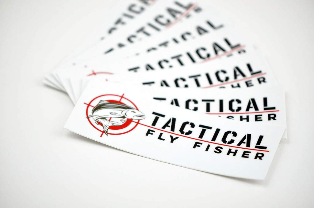 Tactical Fly Fisher Sticker