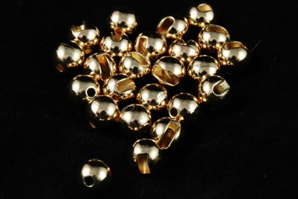 Tactical Fly Fisher Slotted Tungsten Beads, 50 Pack (Gold, Silver, Copper, Black Nickel, and Unfinished Tungsten)
