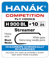 Hanak 900 streamer/long nymph barbless hook