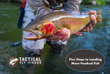 Five Steps to Landing More Hooked Fish