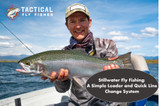 A general leader and quick line change system for stillwater fly fishing