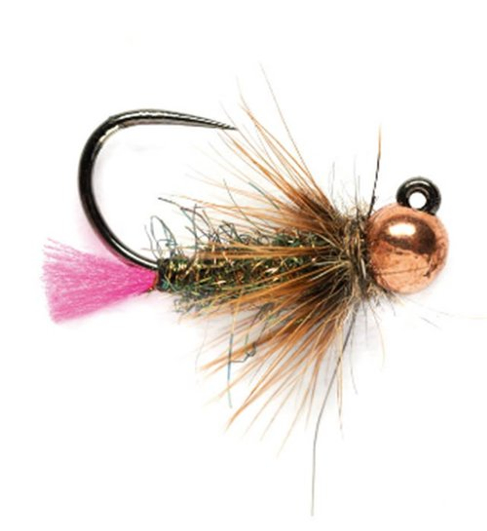 Trout Flies 12 x Orange Red /& Pink Tungsten Czech Nymphs Choice of Sizes,