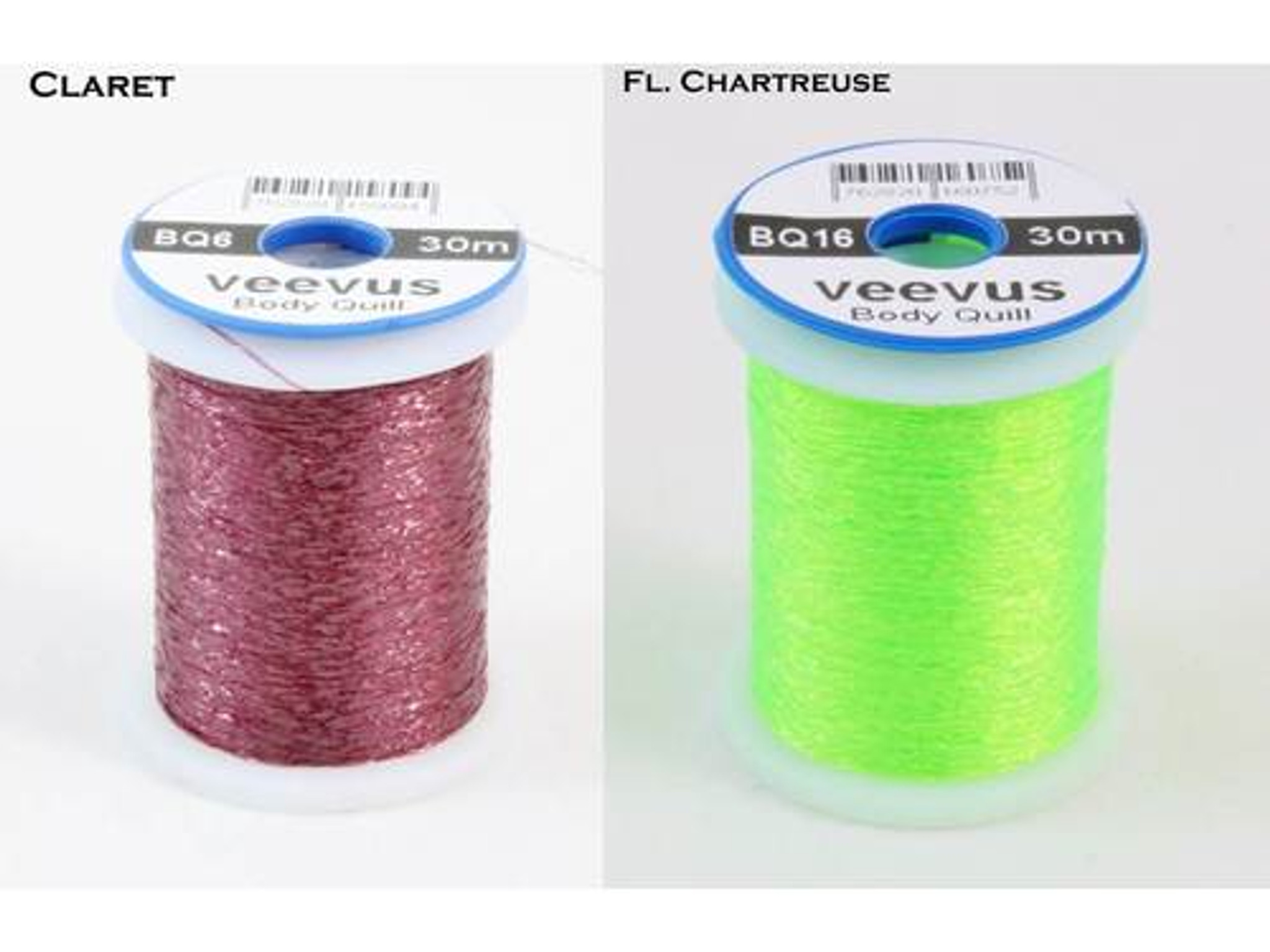GLITTER BODY 2 SPOOLS RED FLY TYING MATERIAL