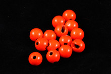 Tactical Fly Fisher Slotted Tungsten Beads 50 Pack Fluorescent Orange, Pink, and Chartreuse