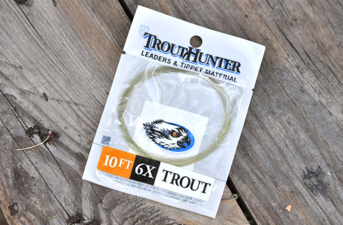 12ft7x Details about  /TroutHunter Finesse Tapered Leaders9ft 0xTroutFly Fishing