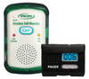 Quiet Fall Monitor sends Wireless Signal to Pager-Monitor Only