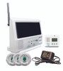 433-SYS  Paging system with 3 nurse call buttons