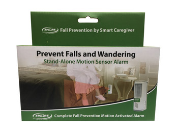 Complete Motion Activated Stand Alone In-Room Alarm with Swivel Bracket