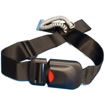 Fall Prevention Alert Easy Release Seat Belt to Wireless Pager
