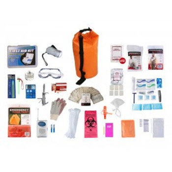 1 Person Elite Survival Kit (72+ HOURS) Waterproof Dry Bag