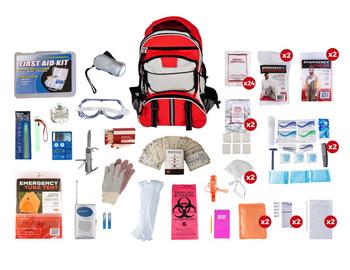 SKT2 - 2 person elite survival kit 72 hours by Guardian Survival