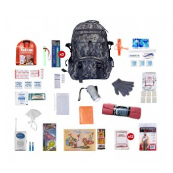Children's Survival Kit (72 HOURS)CAMO BACKPACK