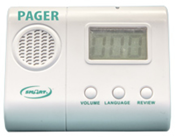 Pager to be used with TL-2016R monitor