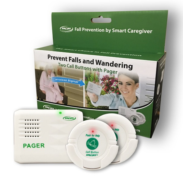 Complete Two Nurse Call Button Paging System In-A-Box