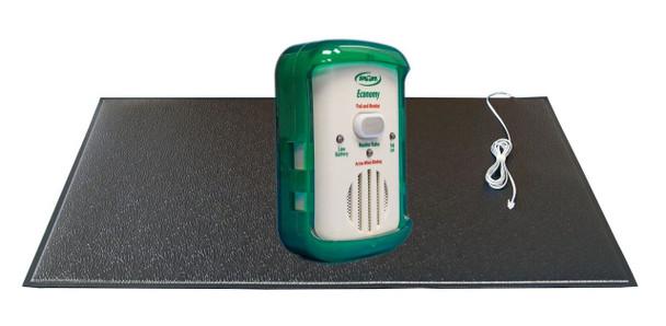 Economy In Room Monitor With Breakaway Cord 24x48 Grey  Floor Mat