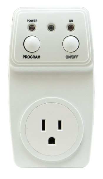 Smart Light Outlet w/433-EC Monitor and Cordless 20x30 Bed Pad