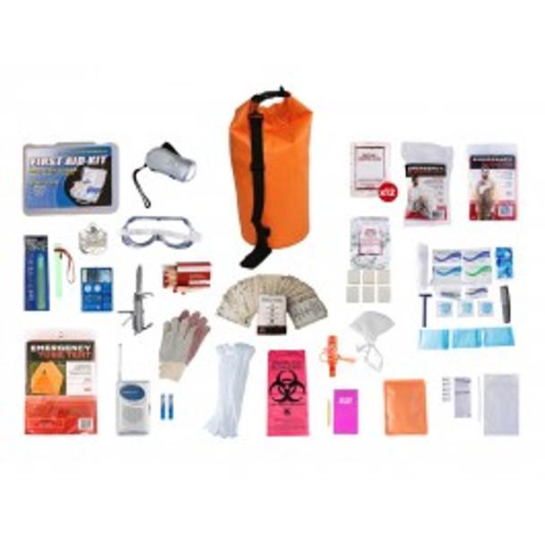 1 Person Elite Survival Kit (72+ HOURS) Waterproof Dry Bag