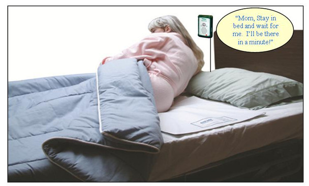 Voice Recordable and Pull String Bed Alarm