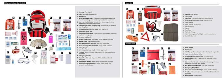 1 Person Parparedness Kit PPK1
