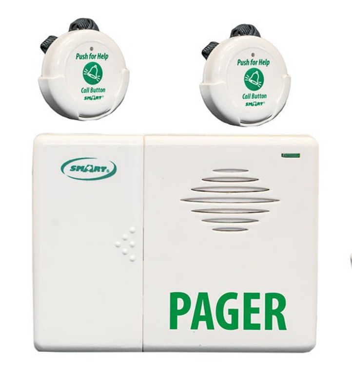 TL-5102TP Paging System with Two Call Buttons and One Pager