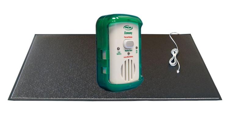 Complete Economy In Room Monitor With Breakaway Cord 24x48 Grey  Floor Mat