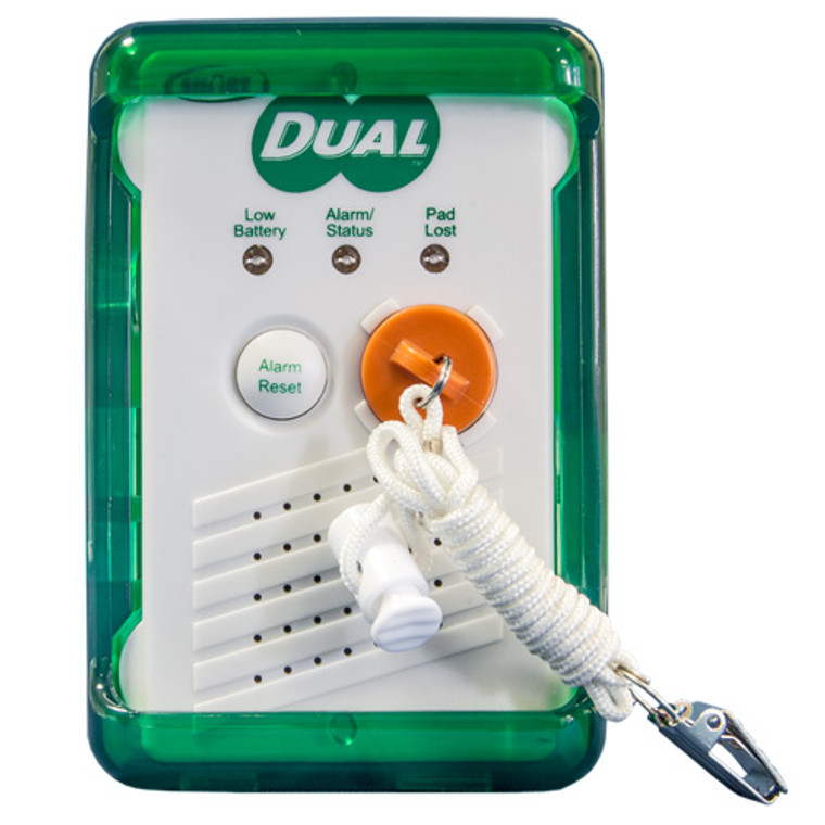 Complete Voice Recordable Pull String Alarm  with Corded 24x36 Floor Mat