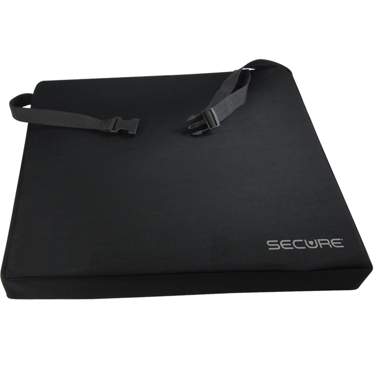 Secure Gel Seat Cushion With Safety Straps