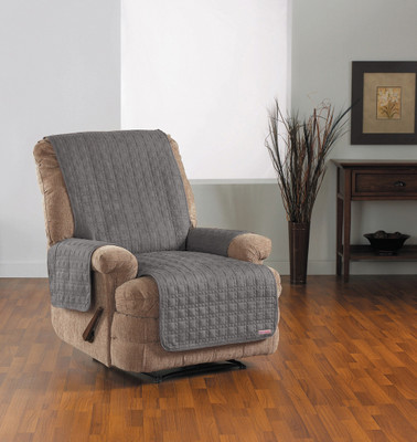 SURE FIT QUICK COVER RECLINER SLIPCOVER SLATE (AC2774)