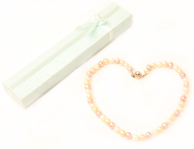 MULTICOLORED PEARL NECKLACE 1 (PN01MC)