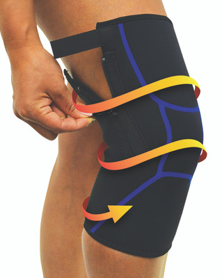 COMPRESSION KNEE WRAP (AC6204)