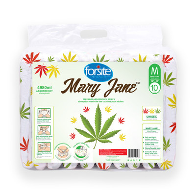 FORSITE MARY JANE MAX ABSORBENCY BRIEFS