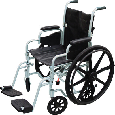 """DRIVE MEDICAL POLY FLY LIGHTWEIGHT WHEELCHAIR 20"""" (AC586120)"""