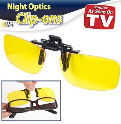 NIGHT OPTICS CLIP ON GLASSES (AC6273)