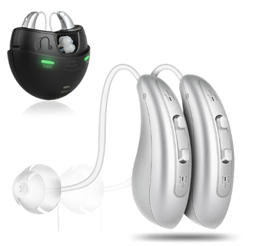 FORSITE HEALTH DIGITAL RECHARGEALE HEARING AIDS (FH1048)