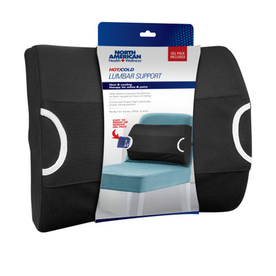 LUMBAR SUPPORT WITH GEL PACK (AC6355)