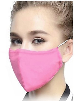 ADULT MASK WASHABLE SNUG FIT PINK (AC6397)