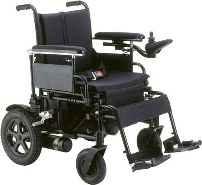 "DRIVE MEDICAL CIRRUS POWER FOLDING WHEELCHAIR 18"" (AC585618)"