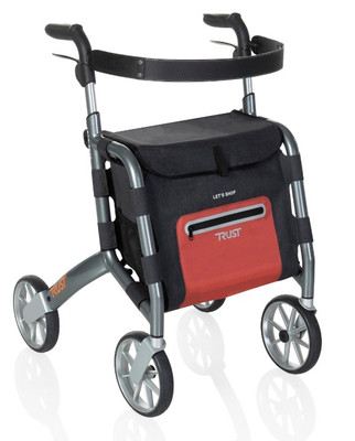 LET'S GO SHOP ROLLATOR (AC6430)