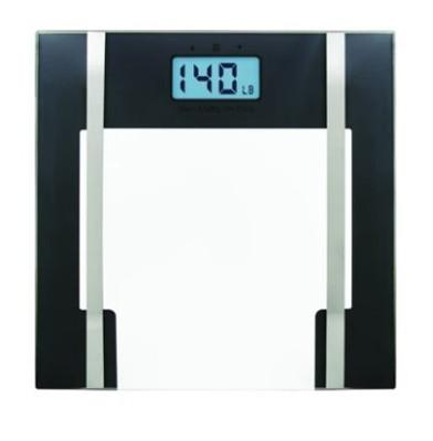 BIOS GLASS LITHIUM BODY FAT SCALE (AC6437)