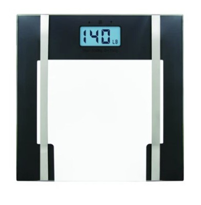 BIOS GLASS LITHIUM BODY FAT SCALE (AC6437)