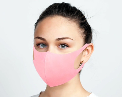 BREATHABLE FACE MASK PINK UNISEX (AC6452)