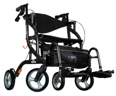 AIRGO FUSION F23 SIDEFOLDING ROLLATOR AND TRANSPORT CHAIR