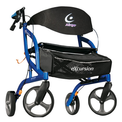 AIRGO EXCURSION XWD LIGHTWEIGHT SIDEFOLD ROLLATOR