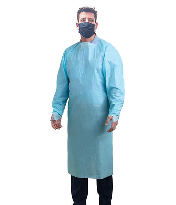 DISPOSABLE ISOLATION GOWNS 150PC