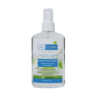 ALL CLEAN NATURAL HAND SANITIZER 8OZ