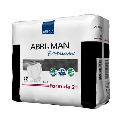 ABENA ABRI MAN MALE PADS FORMULA 2 BY CASE