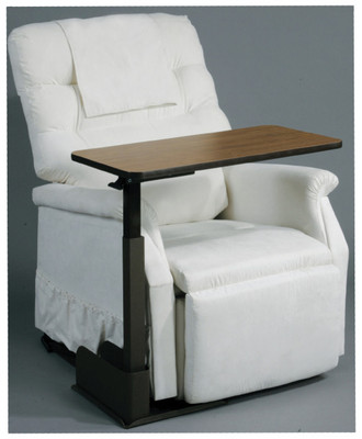 DRIVE MEDICAL SEAT LIFT CHAIR OVERBED TABLE RIGHT SIDE 13085RN